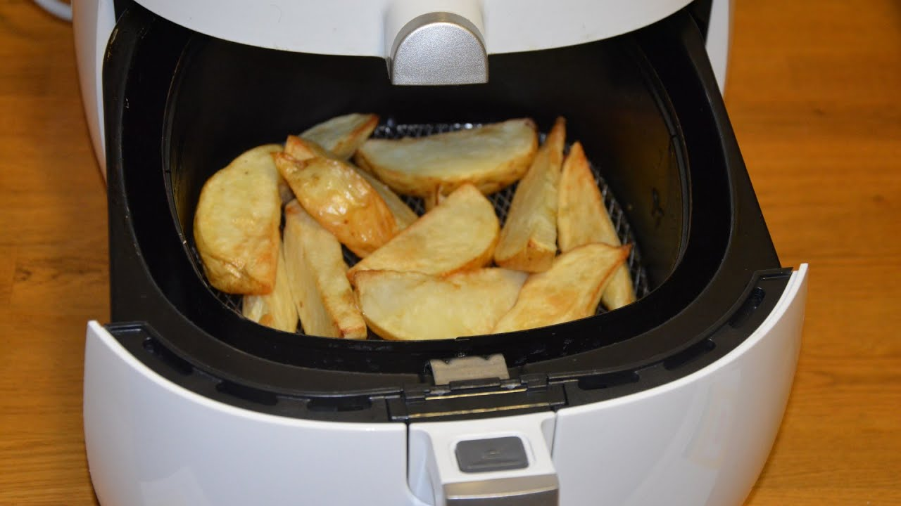 Cómo utilizar las freidoras de aire para las patatas fritas 1