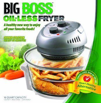 Reseñas y recetas de la freidora Big Boss Oil-Less Air Fryer 1